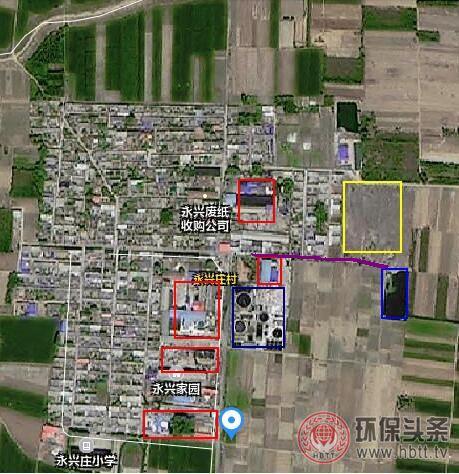 河北蠡县:村边造纸厂污染 村民为生活环境堪忧