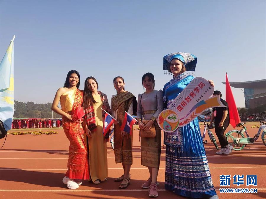"""(青春的梦想 青春的奋斗·在中国生活的外国青年眼中的中国未来·图文互动)(4)""""我在中国追寻梦想""""——东盟留学生青春闪耀的故事"""